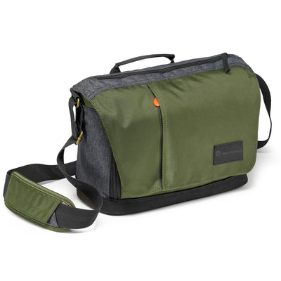 Manfrotto Street Messenger Bag for CSC or DSLR (Green and Grey), bags shoulder bags, Manfrotto - Pictureline  - 1