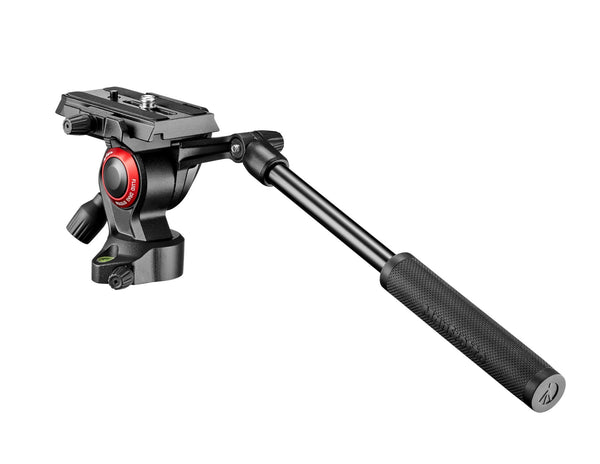 Manfrotto MVH400AHUS BeFree Live Fluid Video Head, tripods video heads, Manfrotto - Pictureline  - 1