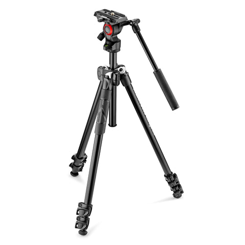 Manfrotto MK290LTA3-VUS BeFree Live Fluid Video Head with 290 Light Kit, tripods video tripods, Manfrotto - Pictureline  - 1