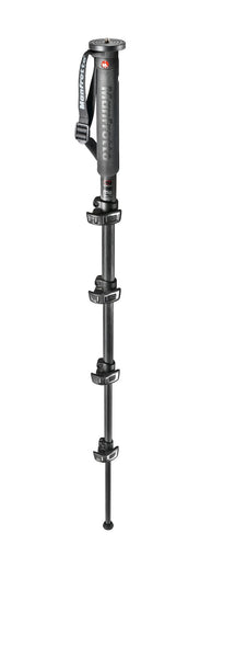 Manfrotto MPMXPROC5US Xpro Monopod Plus Carbon Fiber 5 Section, tripods photo monopods, Manfrotto - Pictureline  - 1