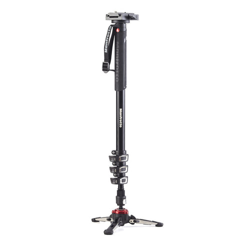 Manfrotto Video MVMXPROA4577US Xpro Aluminum Video Monopod with 577 Head, tripods video monopods, Manfrotto - Pictureline  - 1