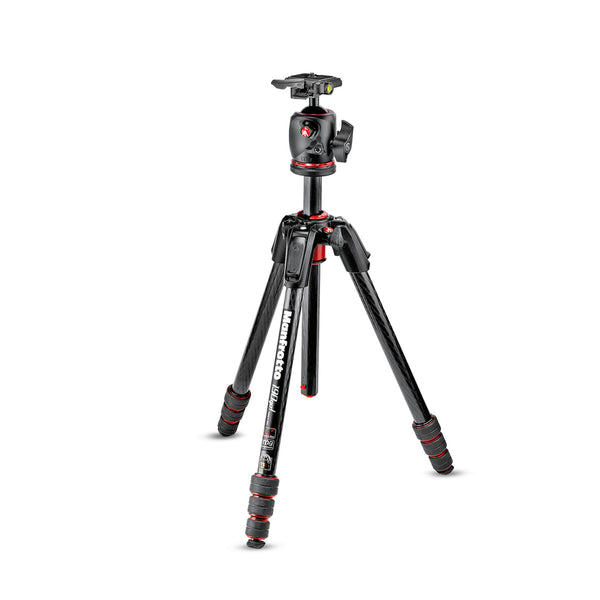 Manfrotto 190go! Carbon Fiber M-Series Tripod with MHXPRO-BHQ2 XPRO Ball Head RC2 Kit