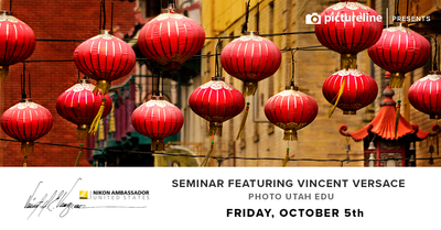 Seminar Featuring Vincent Versace (October 5th, Friday)