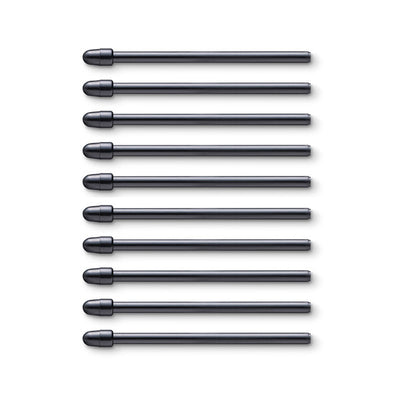 Wacom Standard Pen Nibs Replacement Set for Wacom Pro Pen 2, Pro Pen 3D (10 Pack)