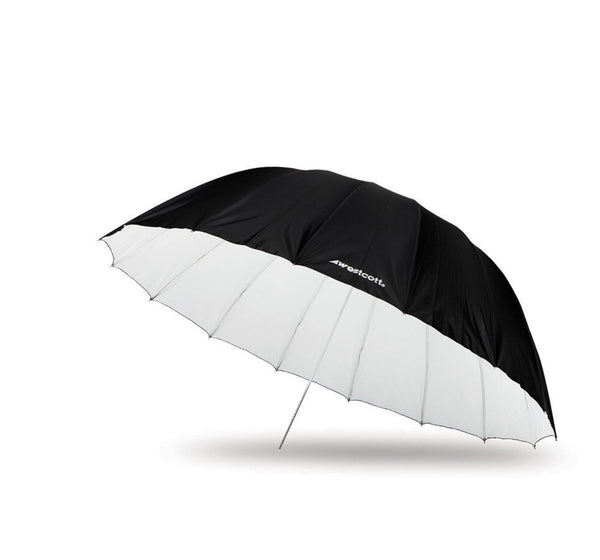 Westcott 7' Parabolic Umbrella White/Black Diffusion, lighting umbrellas, Westcott - Pictureline  - 1