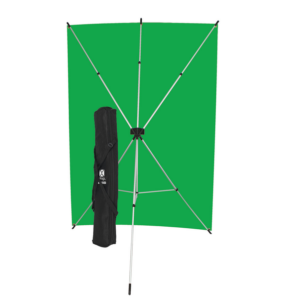 Westcott X-Drop Kit (5 x 7', Green Screen), lighting backgrounds & supports, Westcott - Pictureline  - 1
