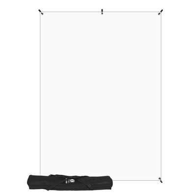 Westcott X-Drop Kit (5 x 7', White Backdrop), lighting backgrounds & supports, Westcott - Pictureline  - 3