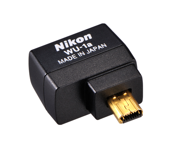 Nikon WU-1a Wireless Mobile Adapter, camera accessories, Nikon - Pictureline