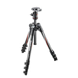 Manfrotto MKBFRC4-BH BeFree Carbon Fiber Tripod, tripods travel & compact, Manfrotto - Pictureline  - 1