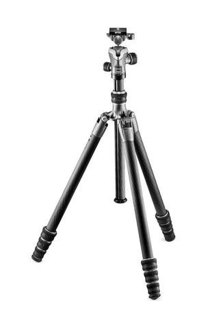 Gitzo GK1545T-82TQD Series 1 Traveler Carbon Fiber Tripod with Center Ball Head, tripods travel & compact, Gitzo - Pictureline  - 1