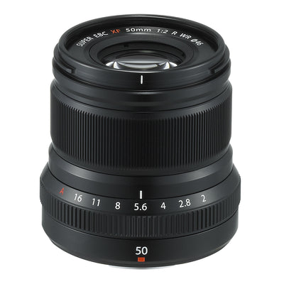 Fujifilm XF 50mm F2 R WR Lens (Black), lenses mirrorless, Fujifilm - Pictureline  - 2