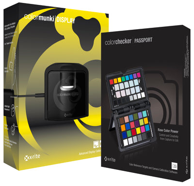 x-rite ColorMunki Display/x-rite Color Checker Passport Bundle, computers color management, X-Rite - Pictureline  - 1