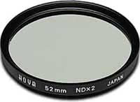 Hoya 52mm Neutral Density NDX2 (HMC) Filter, lenses filters nd, Hoya - Pictureline  - 1