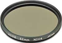 Hoya 52mm Neutral Density NDX4 (HMC) Filter, lenses filters nd, Hoya - Pictureline  - 1