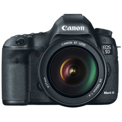 Canon EOS 5D Mark III EF 24-105mm L IS USM Digital Camera Kit, camera dslr cameras, Canon - Pictureline  - 1