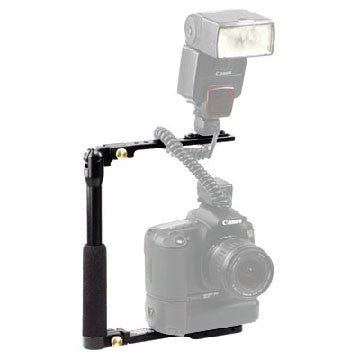 Custom Brackets CB Folding-T Bracket, lighting speedlite accessories, Custom Brackets - Pictureline  - 1
