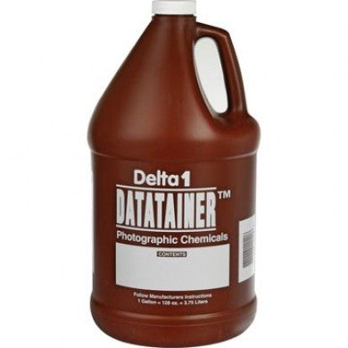 Delta Datatainer Checmical Storage Bottle (128oz.), camera film darkroom, Dot Line - Pictureline