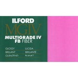 Ilford MG Fiber Glossy 11X14 10, camera film darkroom, Ilford - Pictureline  - 2