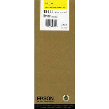 Epson T544400 9600 Yellow 220ml Ink, papers ink large format, Epson - Pictureline