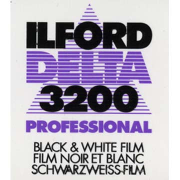 Ilford Delta 3200 Pro 135-36 Black & White Negative Film (One Roll), camera film, Ilford - Pictureline  - 1