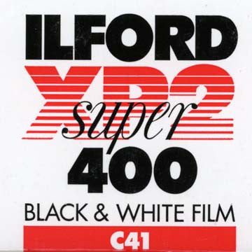Ilford XP2 Super 120 Black & White Film (ISO 400 - One Roll), camera film, Ilford - Pictureline  - 1