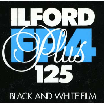 Ilford FP4 Plus 120 Black & White Negative Film (ISO 125 - One Roll), camera film, Ilford - Pictureline  - 1