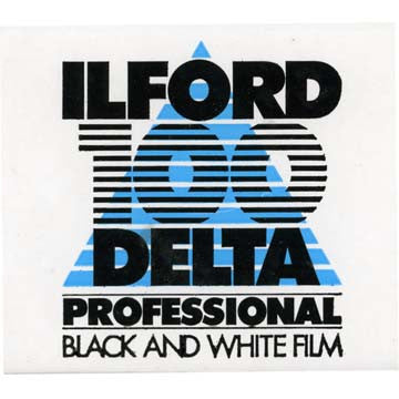 Ilford Delta 100 120 Black & White Negative Film (One Roll), camera film, Ilford - Pictureline  - 1