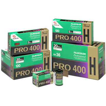 Fujifilm Pro 400H 135-36 Fujicolor Color Negative Film (One Roll), camera film, Fujifilm - Pictureline