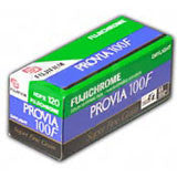 Fujichrome Provia 100F 120 Film (One Roll), camera film, Fujifilm - Pictureline