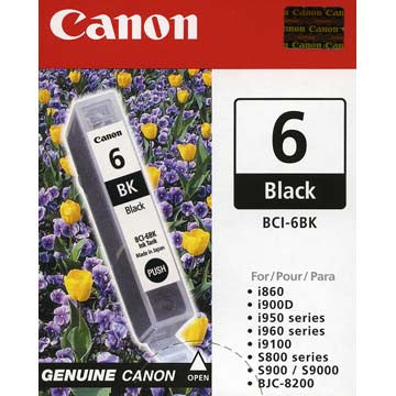 Canon Black Ink BCI-6BK, printers ink small format, Canon - Pictureline