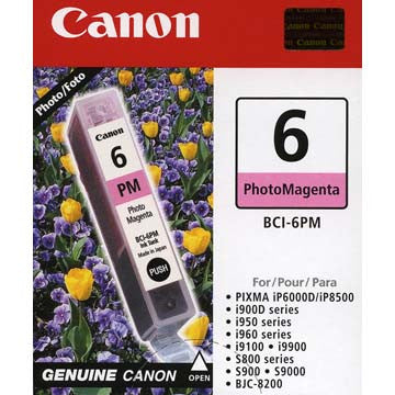 Canon Photo Magenta Ink BCI-6PM, printers ink small format, Canon - Pictureline