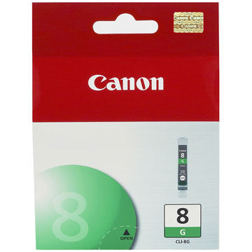 Canon Ink CLI-8G Green, printers ink small format, Canon - Pictureline