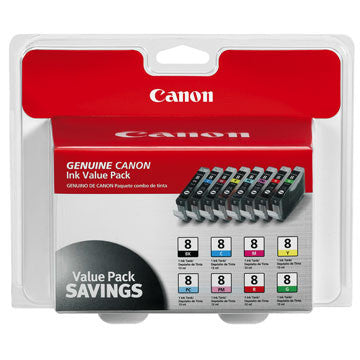 Canon CLI-8 8 Color Multipack, printers ink small format, Canon - Pictureline