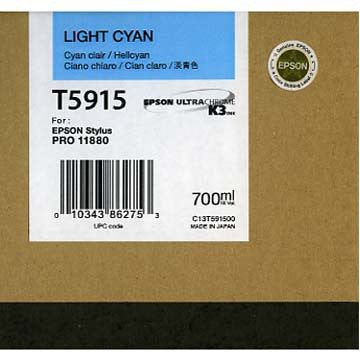 Epson T591500 11880 Ink Light Cyan 700ml, papers ink large format, Epson - Pictureline  - 1