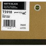 Epson T591800 11880 Ink Matte Black 700ml, papers ink large format, Epson - Pictureline  - 1