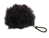 K-Tek Lavalier Shower Cap Style Windscreen Black, video cables & accessories, K-Tek - Pictureline  - 1