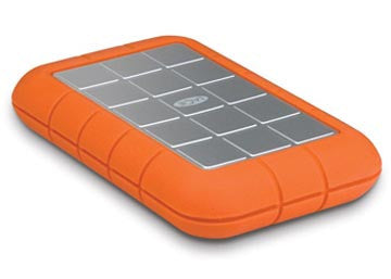 LaCie Rugged Triple Interface USB 3.0 Portable Hard Drive (7200rpm) 500GB, Discounts, Lacie - Pictureline  - 1