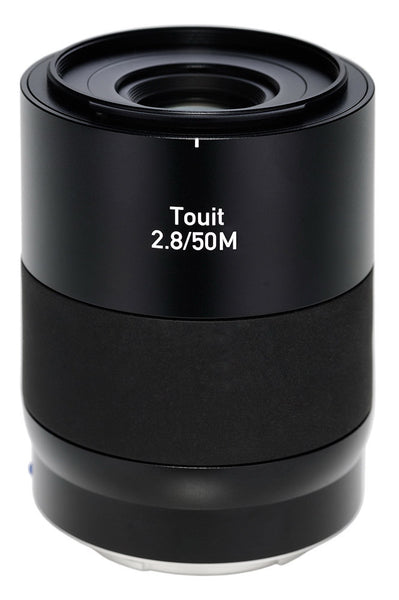 Zeiss Touit 50mm f2.8 Makro Lens for Fujifilm X-Mount, lenses mirrorless, Zeiss - Pictureline