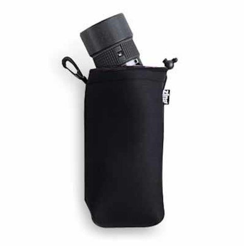 Zing Large Drawstring Pouch Black, bags pouches, Zing - Pictureline
