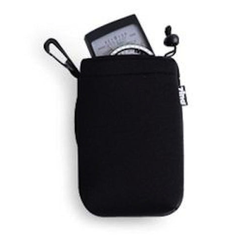 Zing Medium Drawstring Pouch Black, bags pouches, Zing - Pictureline