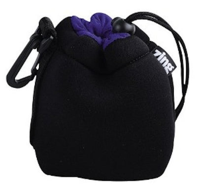 Zing Small Drawstring Pouch Black, bags pouches, Zing - Pictureline