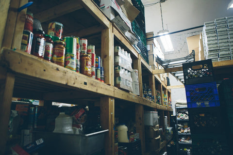 The Bowery Mission pantry