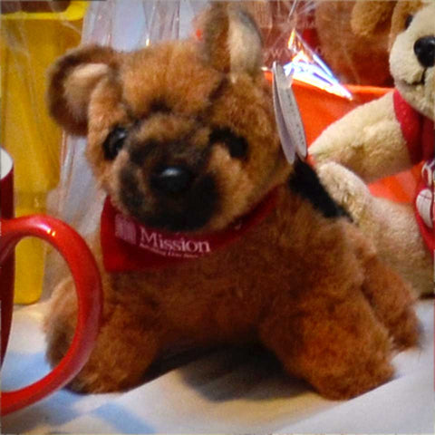 Bowowery Plush Dog, plus provide two weeks of meals for the hungry