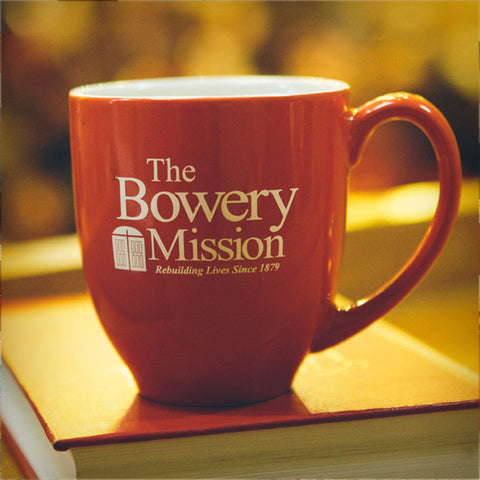 Mission Mug, plus provide two weeks of meals for the hungry