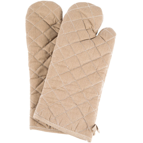"17"" Flame-Retardant Oven Mitts"
