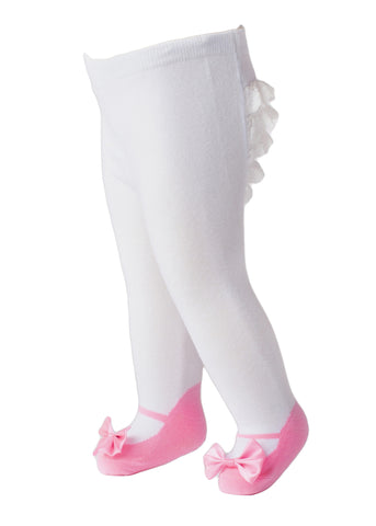 Ruffle baby Tights