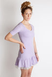mille feuille couture lavender ruffle tulle party dress free people little black dress