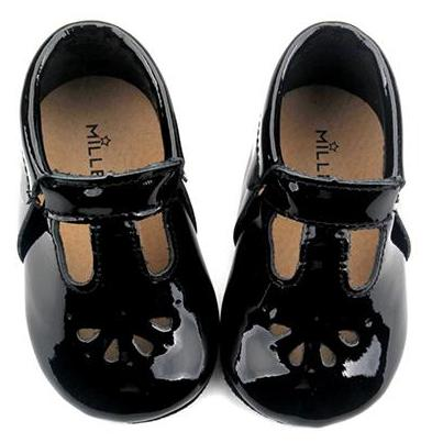 Baby Mary Jane T-Strap Teardrop Shoes
