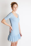 mille feuille couture french blue ruffle tulle party dress free people little black dress