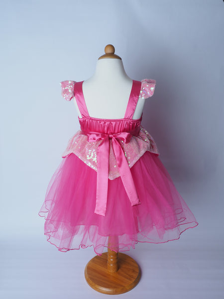 Aurora Sleeping Beauty Sparkle Princess Dress for Girls